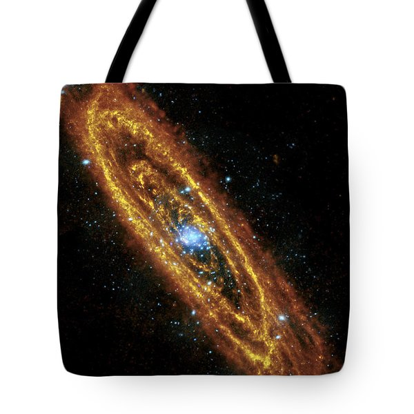 Andromeda Galaxy Tote Bag by Adam Romanowicz