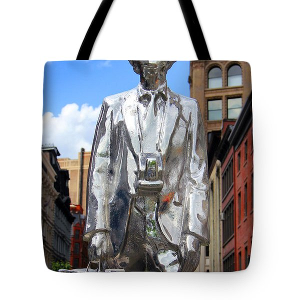 Andy Warhol Tote Bag by Mark Ashkenazi