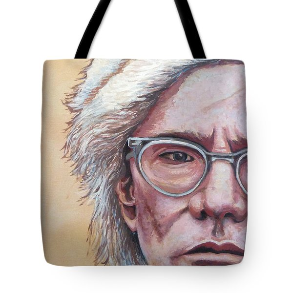 Andy Warhol Tote Bag by Tom Roderick