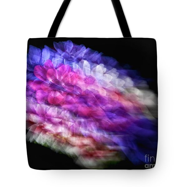 Anemone Abstract Tote Bag by Claudia Kuhn