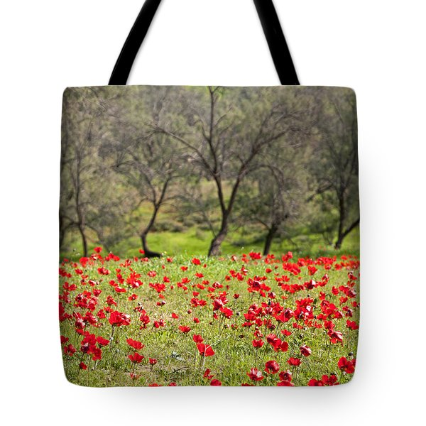 At Ruchama Forest Israel Tote Bag