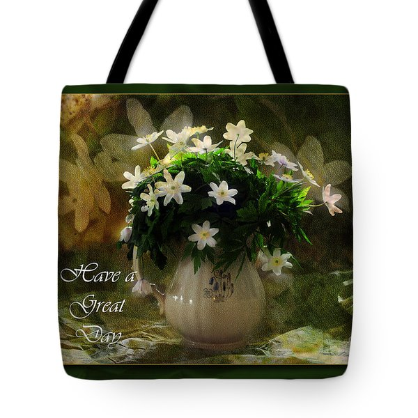 Anemones Tote Bag by Randi Grace Nilsberg