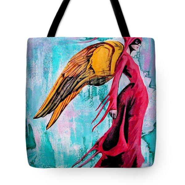 Angel 1 Navigating Ether Tote Bag