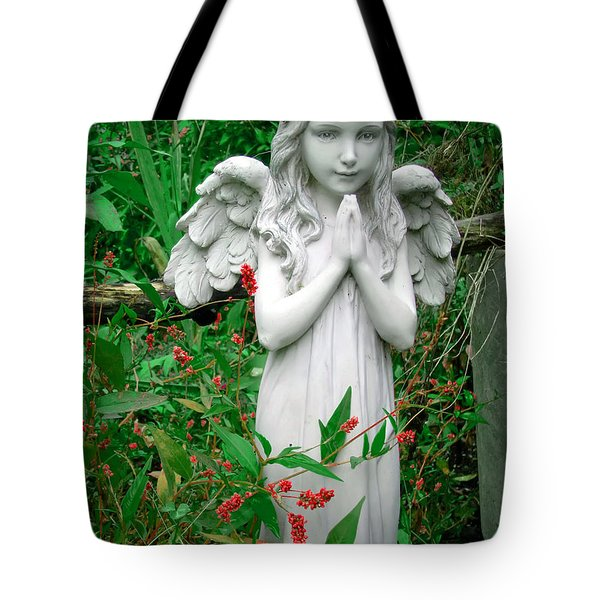 Angel Tote Bag by Aimee L Maher Photography and Art Visit ALMGallerydotcom