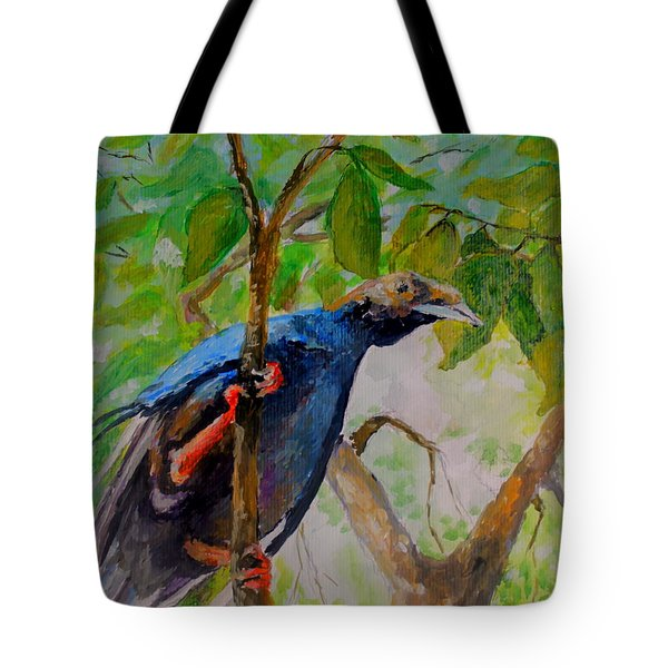 Angel Bird Of  North Moluccas Tote Bag