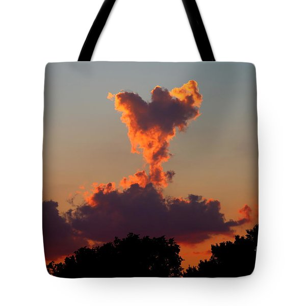 Angel Cloud Tote Bag by Marty Fancy