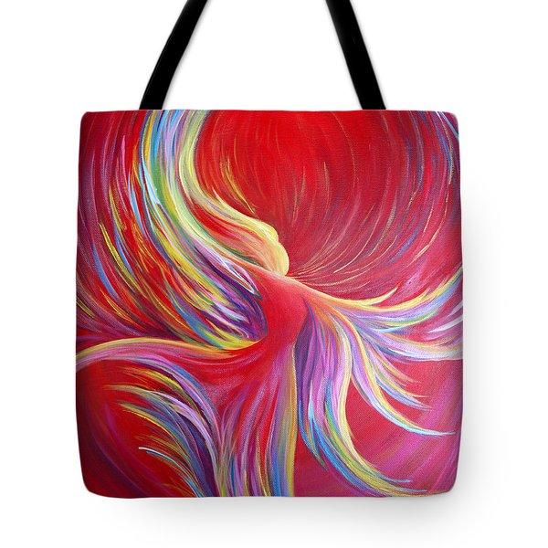 Angel Dance Tote Bag