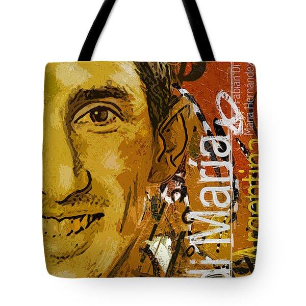 Angel Di Maria - B Tote Bag