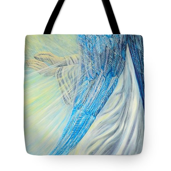 Angel Divine Tote Bag by Caroline Street