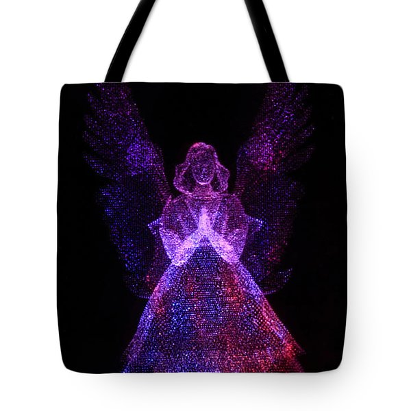 Angel Dots Tote Bag