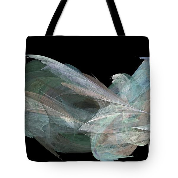 Angel Dove Tote Bag by Elizabeth McTaggart