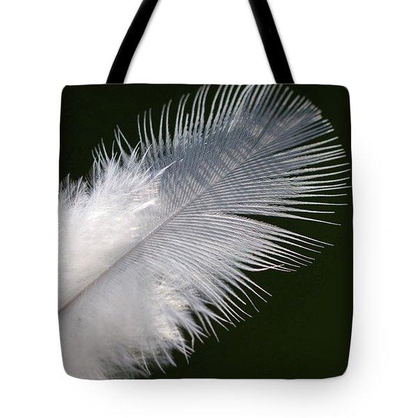 Angel Feather Tote Bag by Carol Lynch
