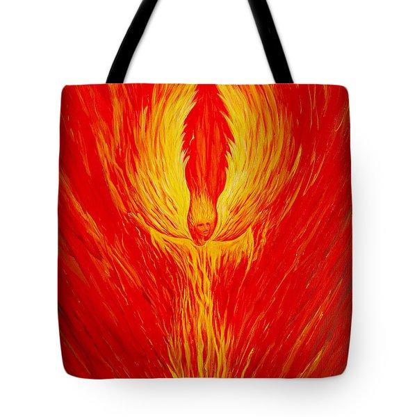 Angel Fire Tote Bag