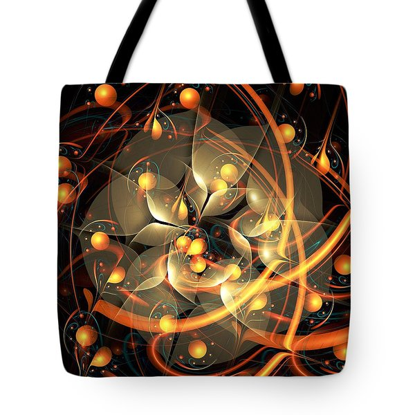 Angel Flower Tote Bag by Anastasiya Malakhova