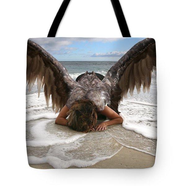 Angel- I Feel Your Sorrow  Tote Bag