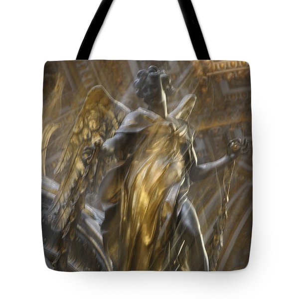 Angel In Motion Tote Bag