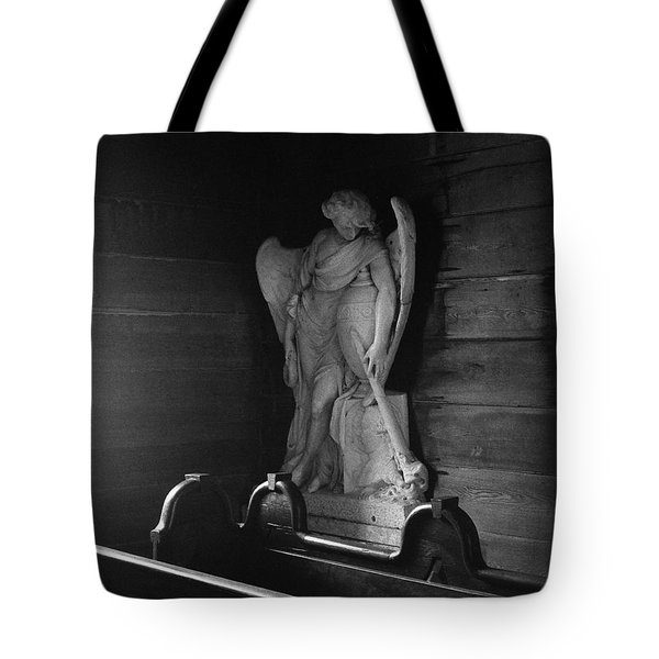 Angel In My Corner Tote Bag