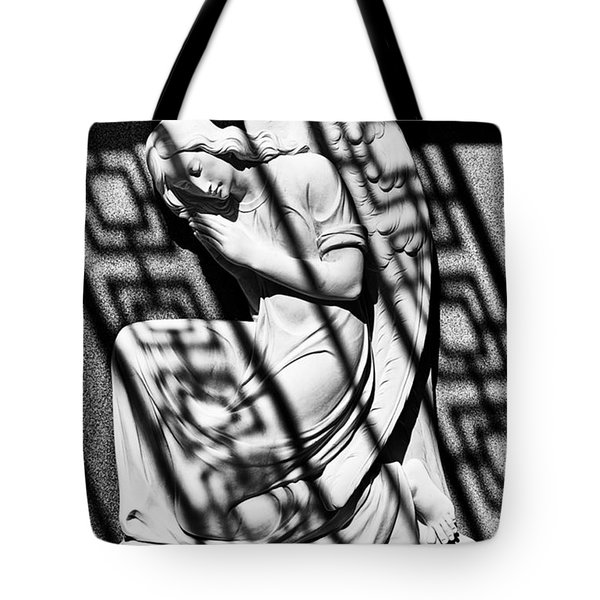 Angel In The Shadows 1 Tote Bag by Swank Photography
