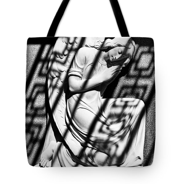 Angel In The Shadows 2 Tote Bag by Swank Photography