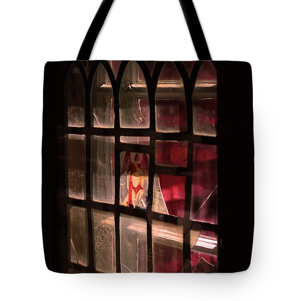 Angel In The Window Tote Bag by Tommytechno Sweden