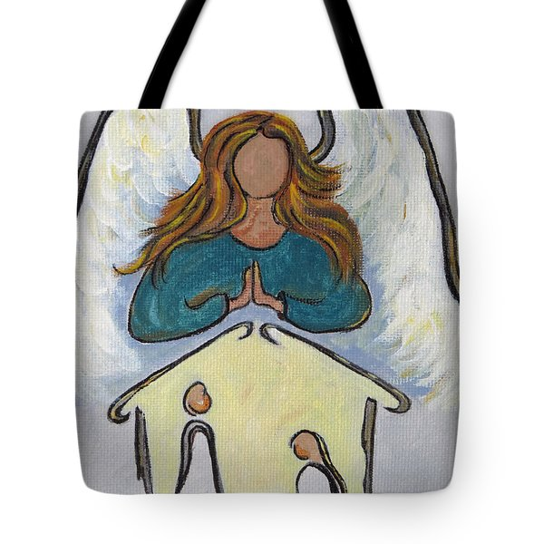 Angel - Messenger Of Joy Tote Bag