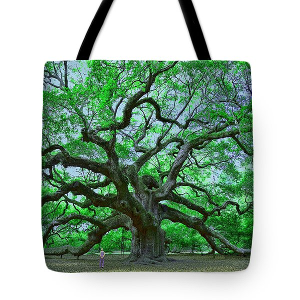 Angel Oak Tote Bag by Allen Beatty