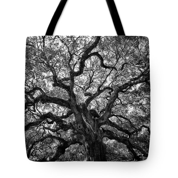 Angel Oak Tote Bag by Renee Sullivan