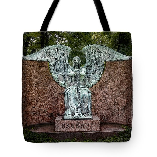 Angel Of Death Lake View Cemetery Tote Bag