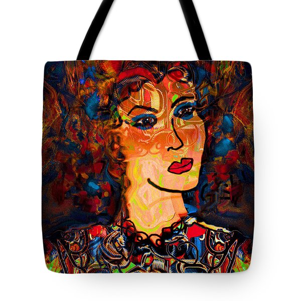 Angel Of Hope Tote Bag by Natalie Holland