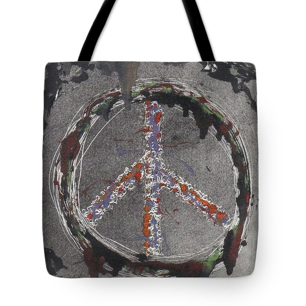 Tote Bag featuring the painting Angel Of Peace by Lesley Fletcher
