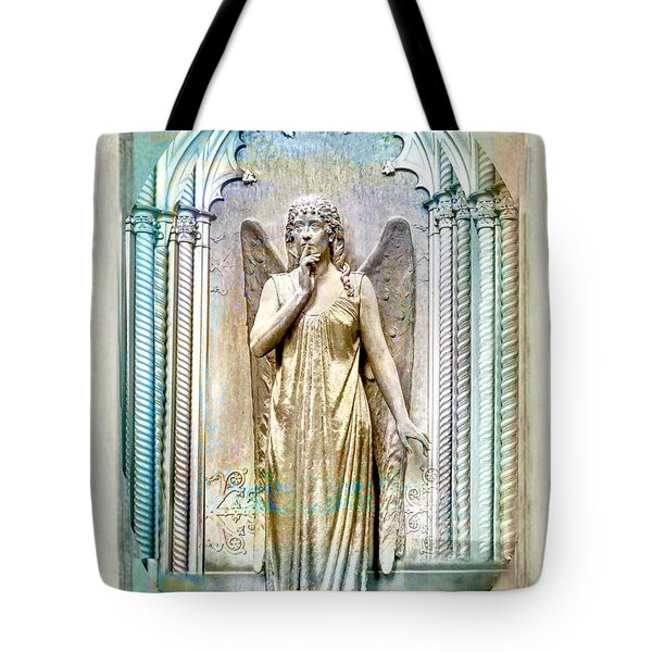 Angel Of Silence.genoa Tote Bag