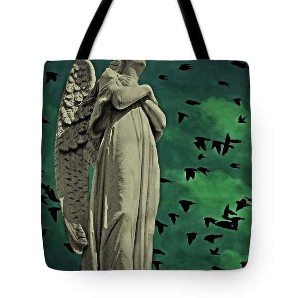 Angel Of Stone Tote Bag
