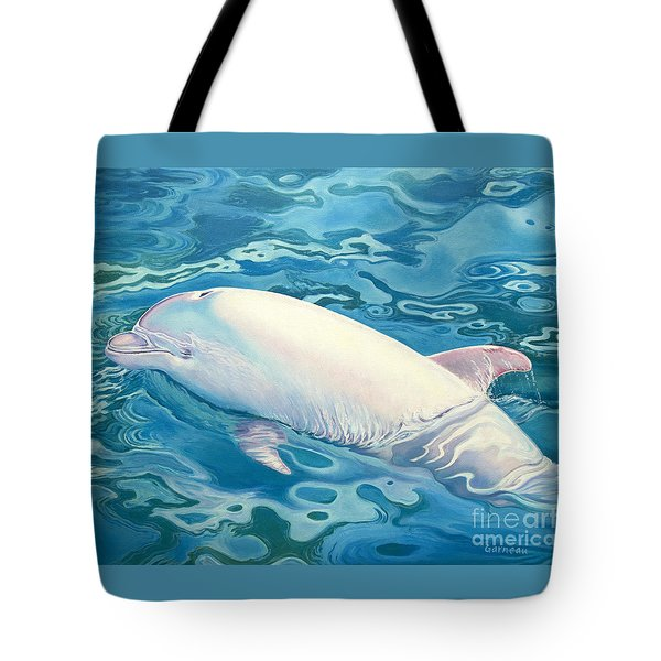 Angel Of Taiji Tote Bag by Catherine Garneau