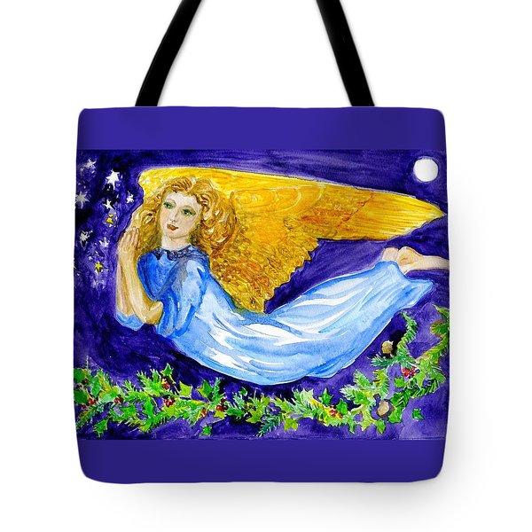 Angel Of The Skies Tote Bag