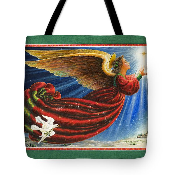 Angel Of The Star Tote Bag