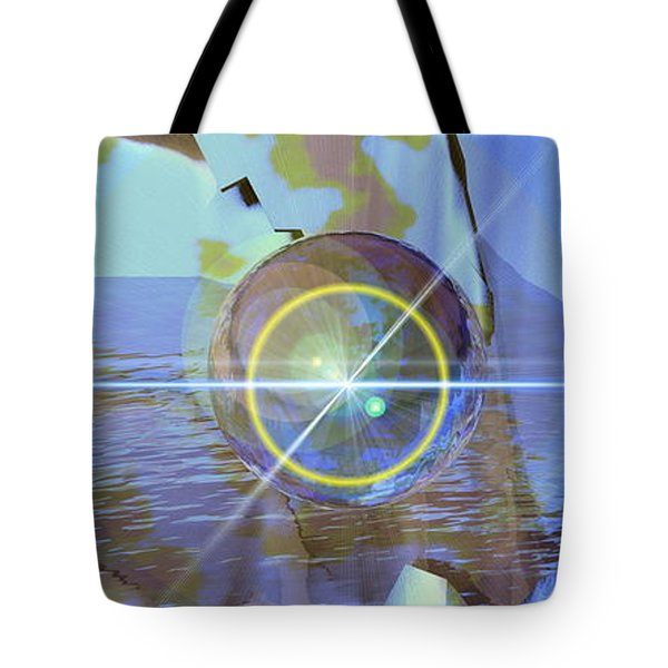 Angel Of The Water Tote Bag by Luke Galutia
