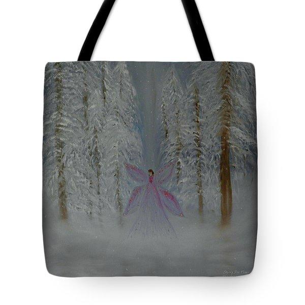 Angel Of Winters Past Tote Bag