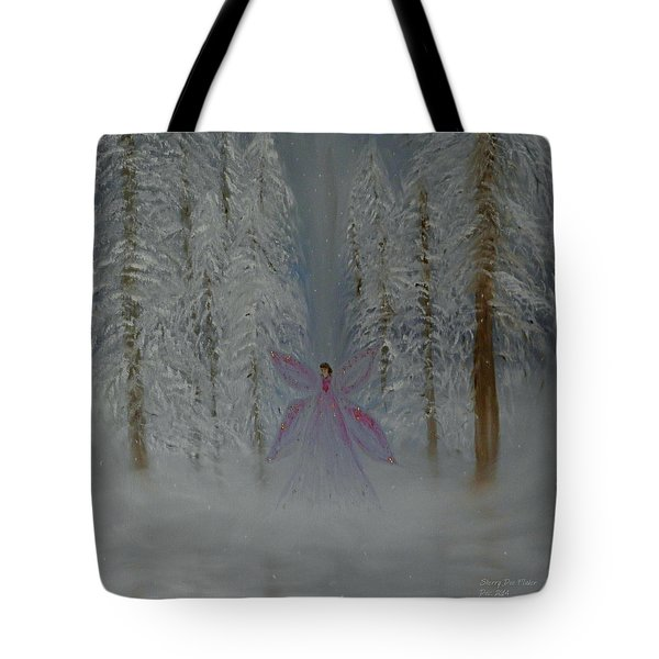 Angel Of Winters Past Tote Bag