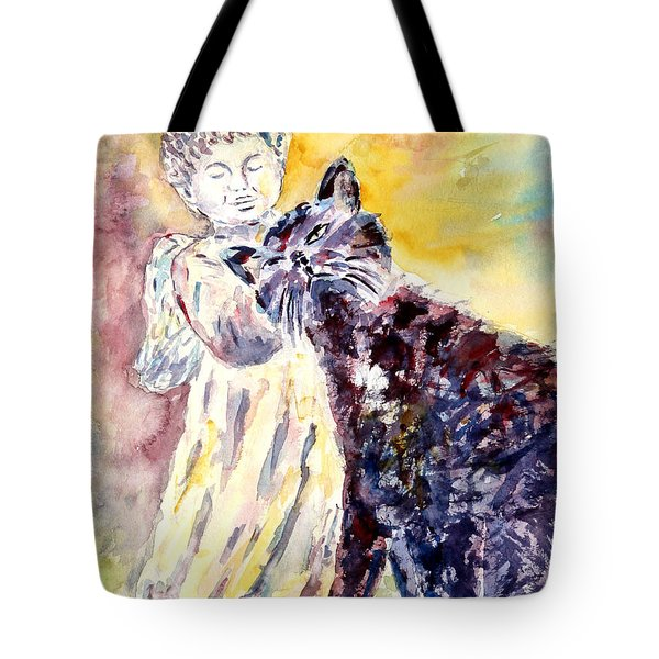 Angel Or Demon Tote Bag