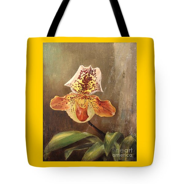 Angel Orchid Tote Bag