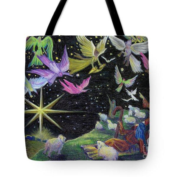 Angel Skies Tote Bag