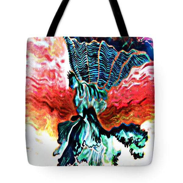 Angel Solar Tote Bag by Genevieve Esson