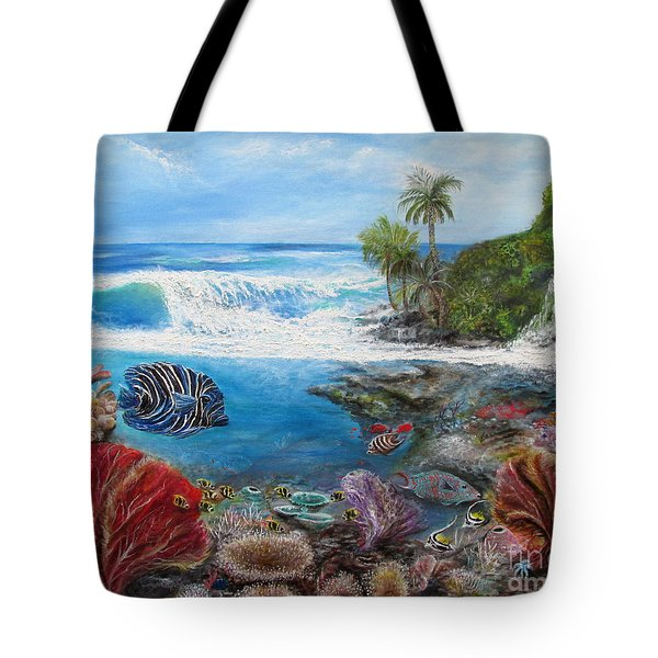 Angel Split View Tote Bag by John Garland  Tyson