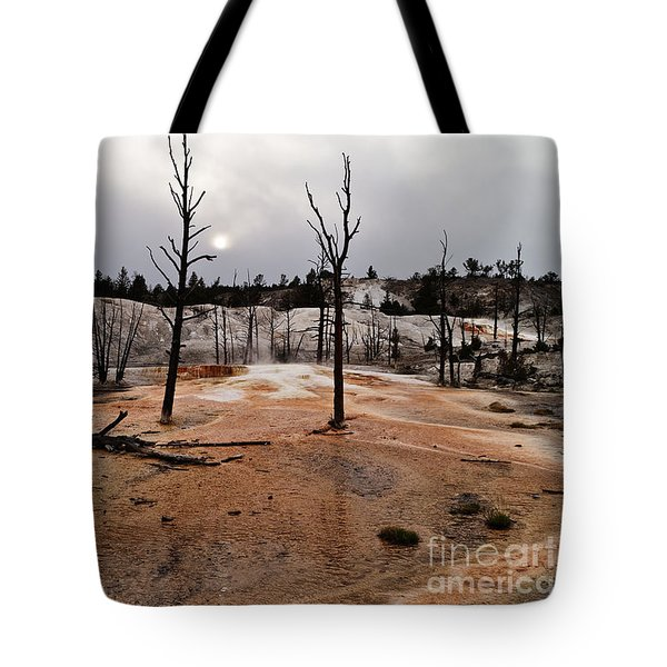 Angel Terrace Sunset Tote Bag