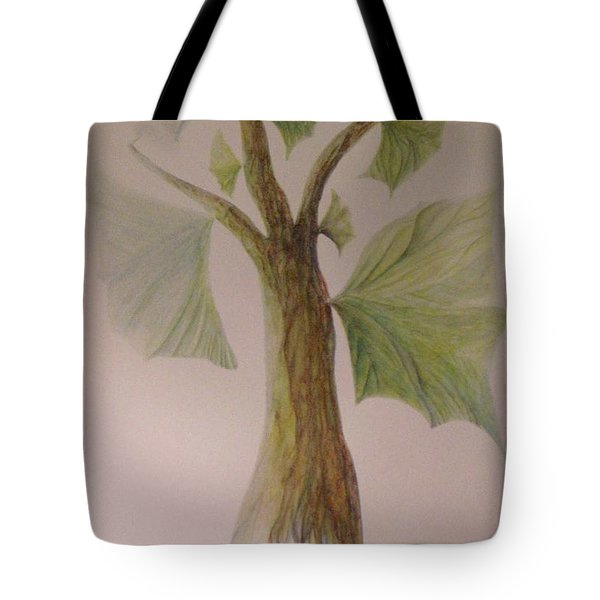 Angel Tree Tote Bag