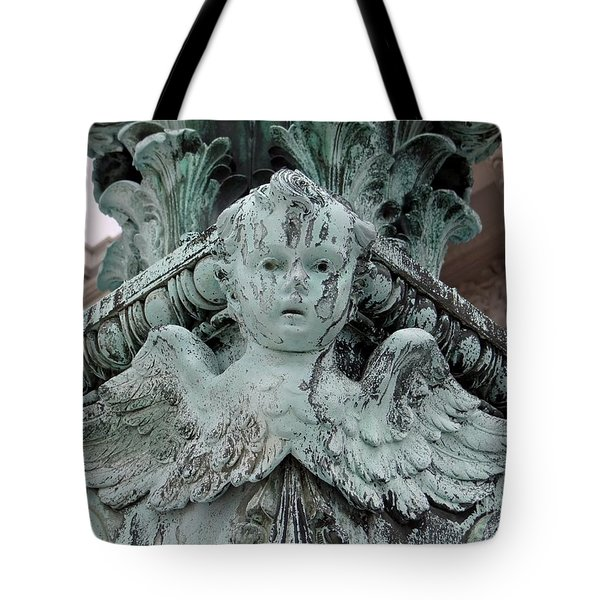 Tote Bag featuring the photograph Angel Wings by Ed Weidman