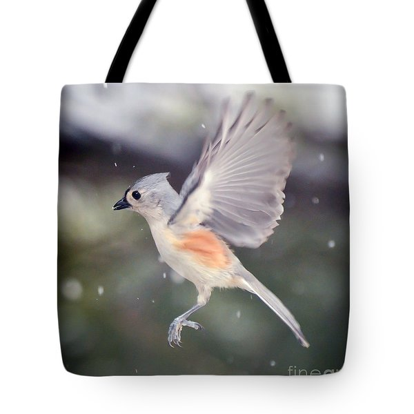 Tote Bag featuring the photograph Angel Wings by Kerri Farley