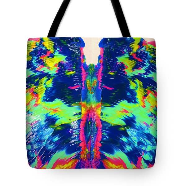 Angel Wings Tote Bag by Vijay Sharon Govender
