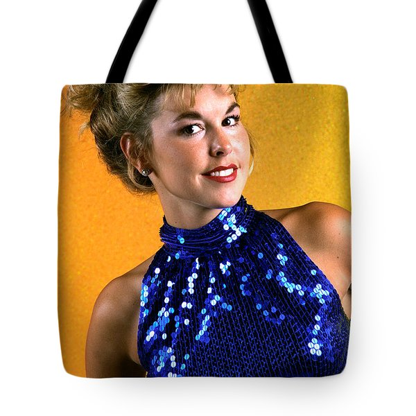 Angela Blue Formal Tote Bag by Gary Gingrich Galleries