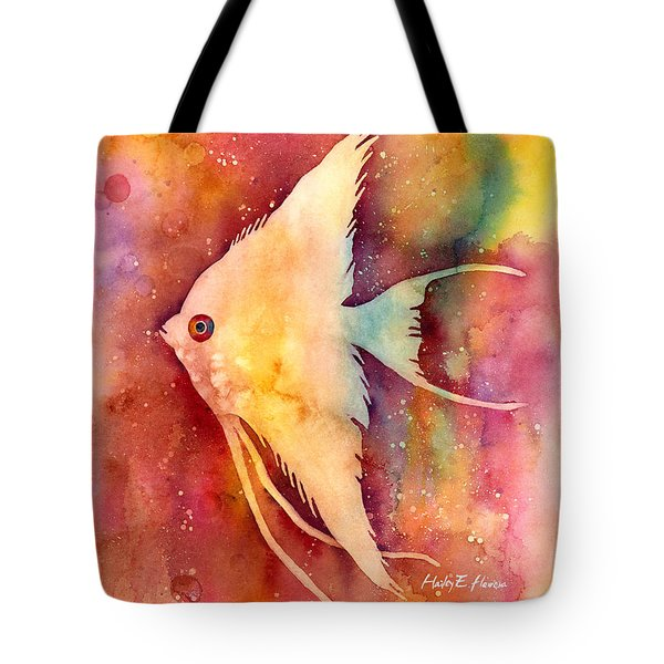 Angelfish II Tote Bag by Hailey E Herrera